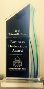 2014 Business of Distinction Award
